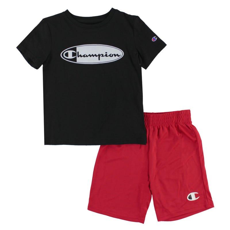 Ensemble T-Shirt Oval Frame 4-7ans