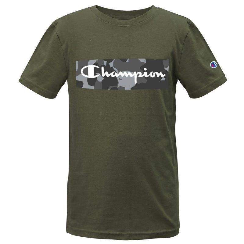 T-shirt Camo Script 8-20ans