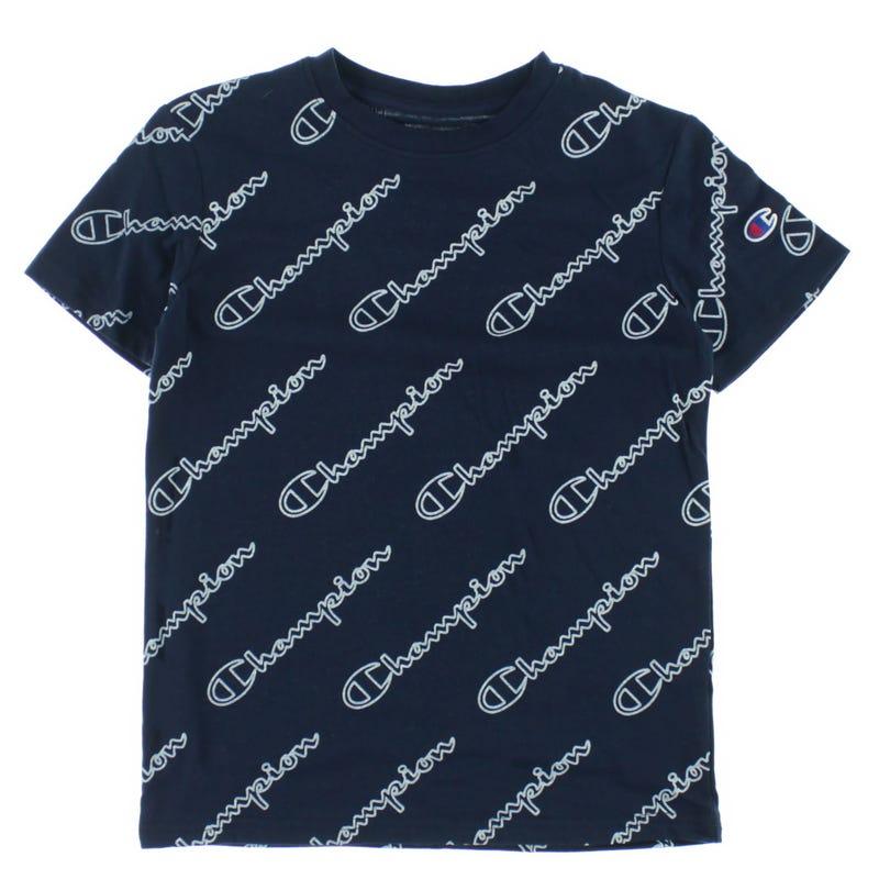 Open Script T-shirt 8-20
