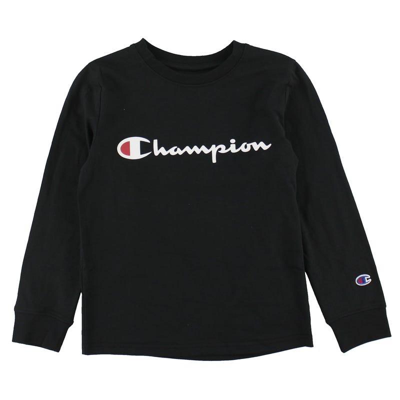T-shirt Manches Longues Script 8-20ans