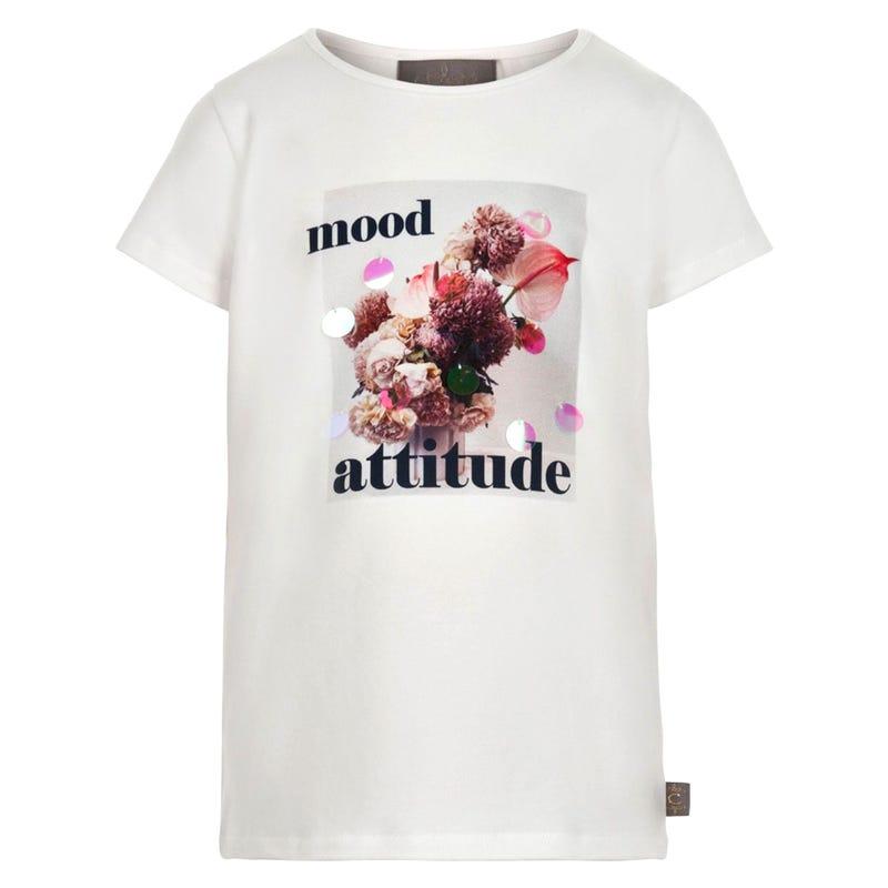 T-Shirt Photo Fleurs 7-14ans
