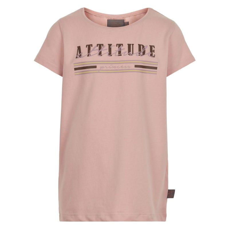 T-Shirt Attitude Fleurs 7-14ans