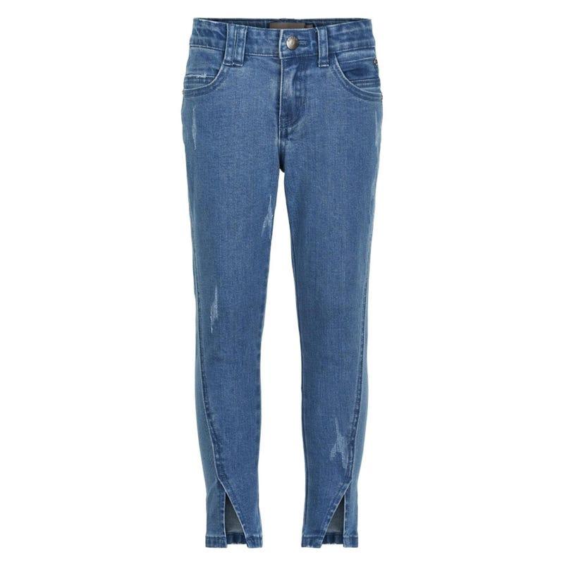 Jeans 3/4 Fleurs 7-14ans