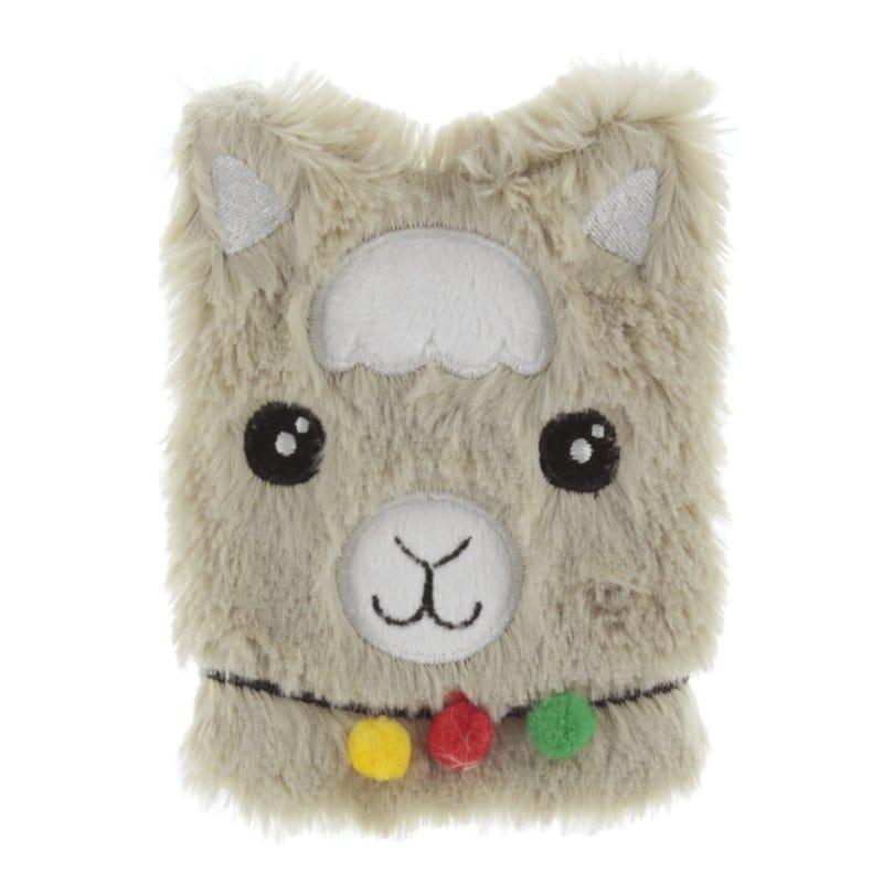 Llama Heating Plush - Brown