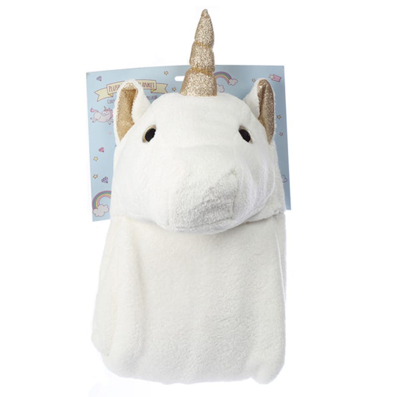 Unicorn Blanket - White