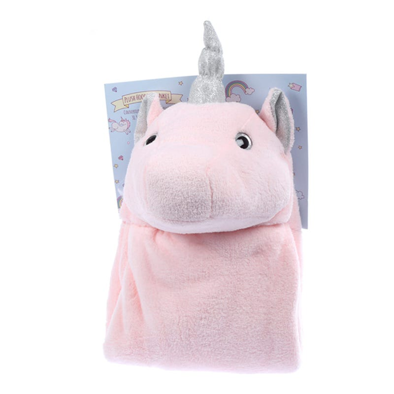Couverture Licorne - Rose