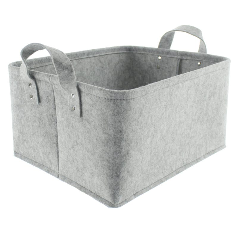 Large Basket - Gray