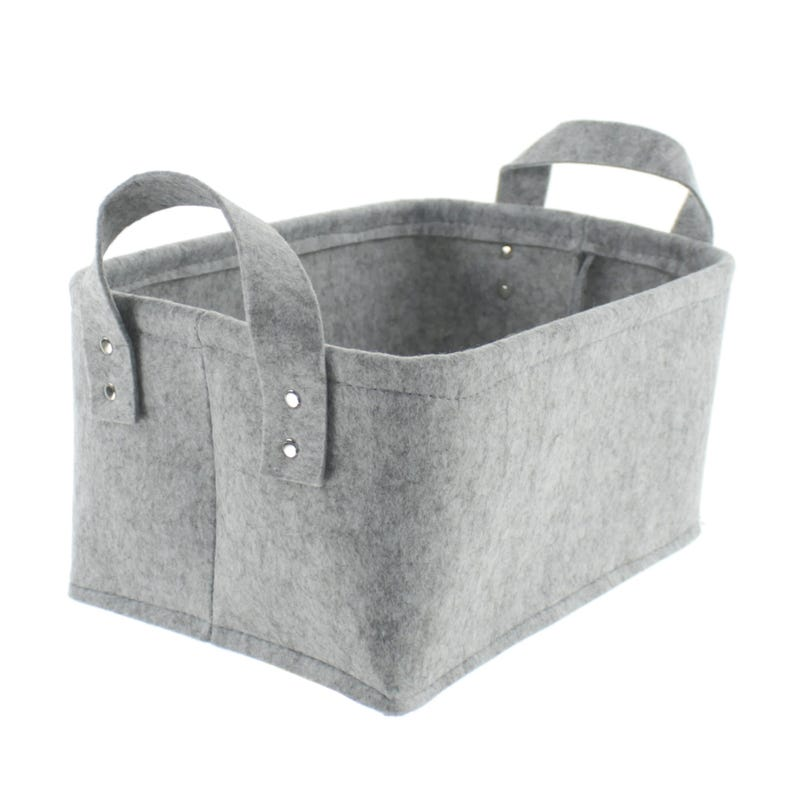 Small Basket - Gray