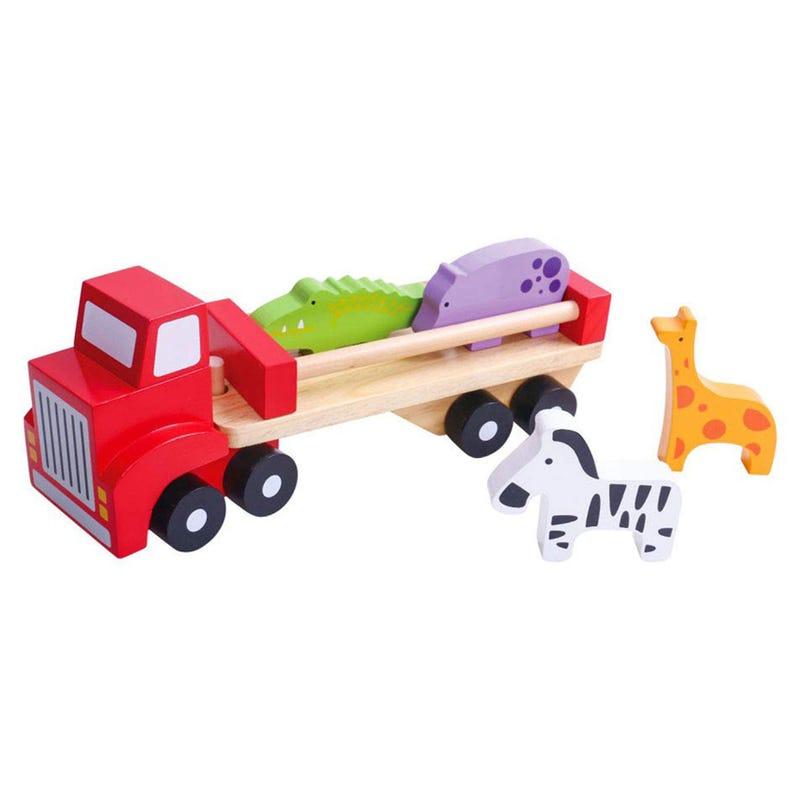 Wood Animal Truck