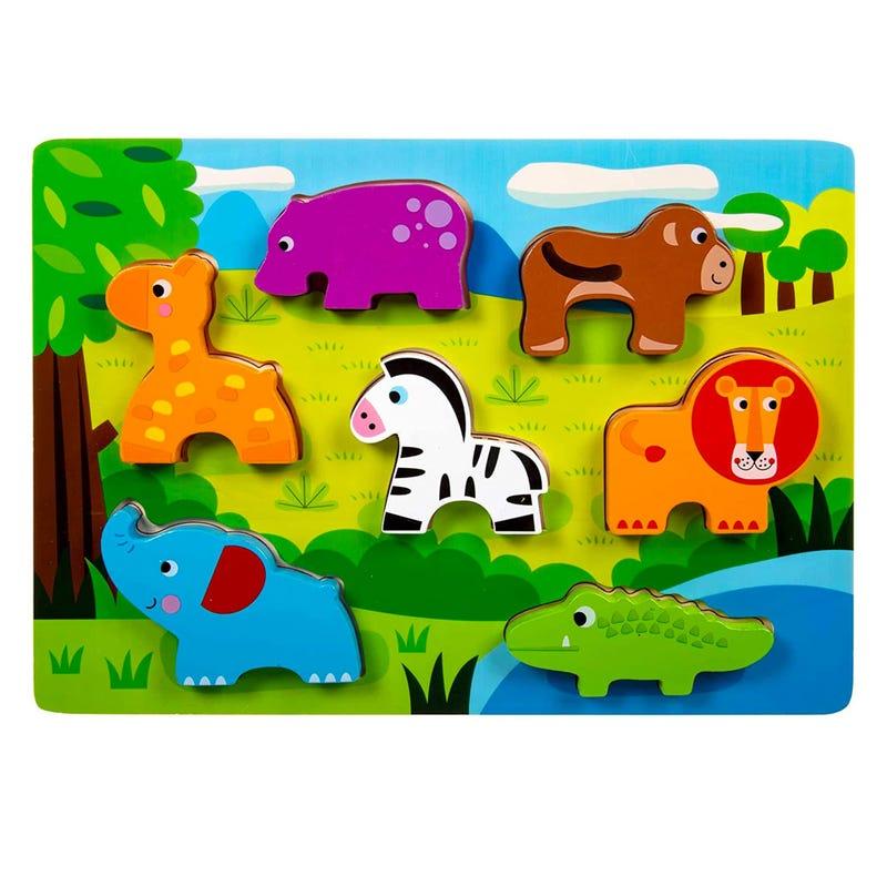 Wood Puzzle - Animals
