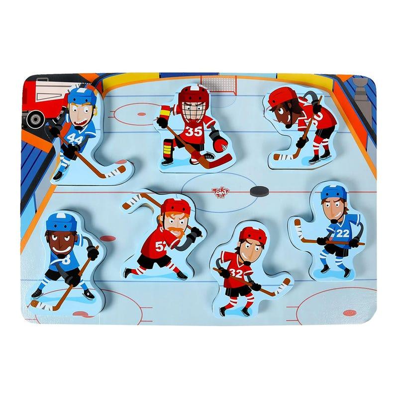 Wood Puzzle - Hockey