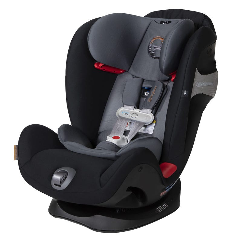 Car Seat Eternis S - Pepper Black