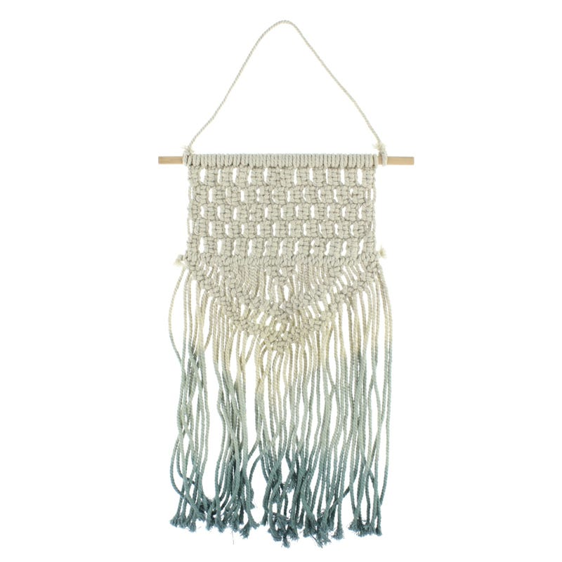 Macrame Wall Art - Blue