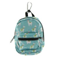 Llama Mini Backpack - Blue