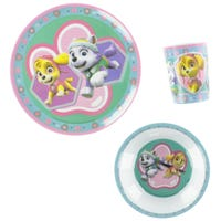 Paw Patrop Dishes 3 Pieces
