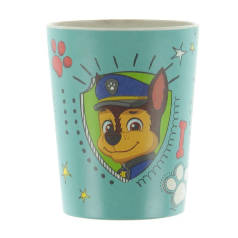 Paw Patrol Bamboo Glass - Chase