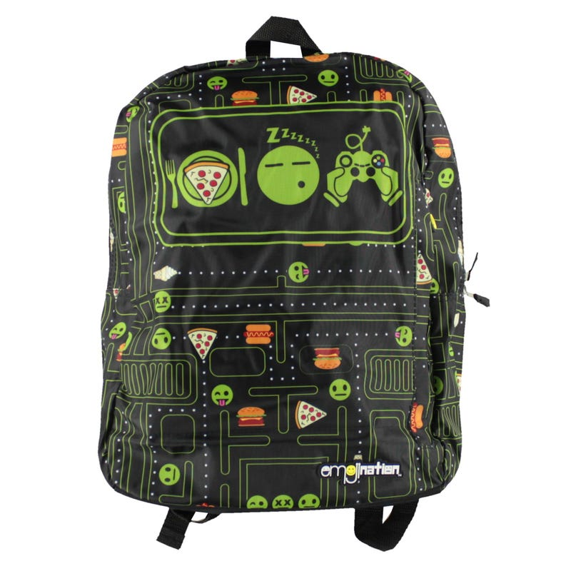Emoji Backpack - Black