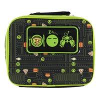 Emoji Lunch Bag - Black