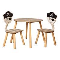 Table et 2 Chaises pour Enfant - Pirate