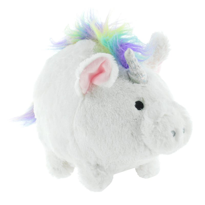Bank Plush Pig - Unicorn