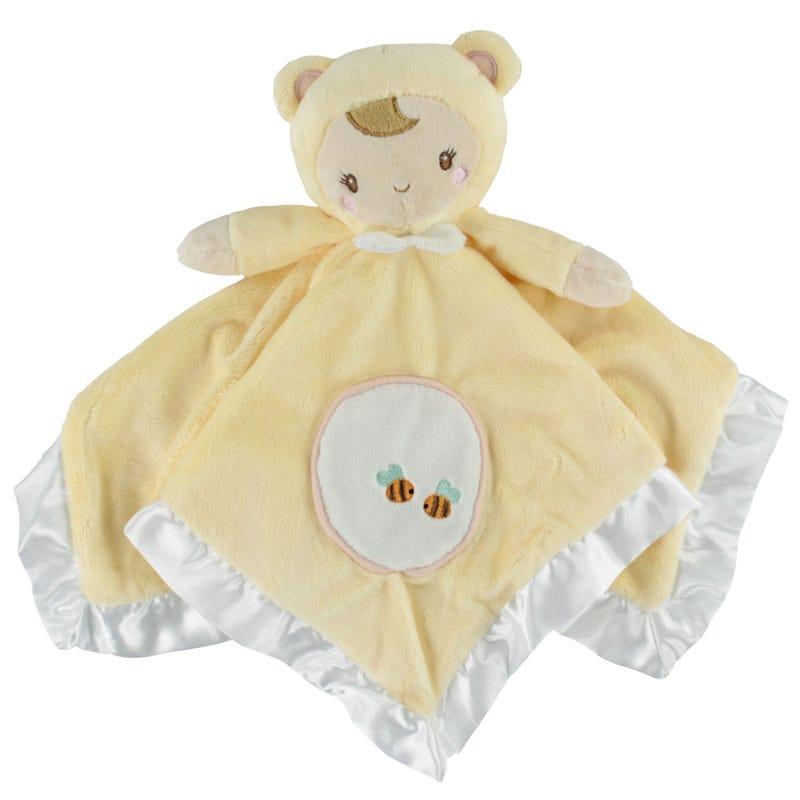 Doll Blanket - Yellow
