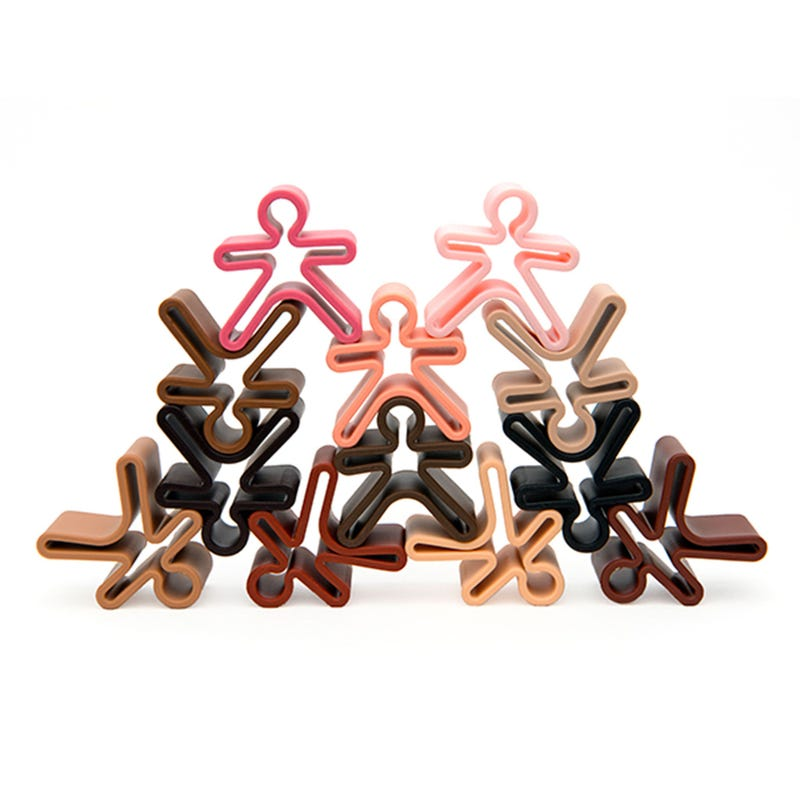 12 Kids Stackable Toys - Diversity