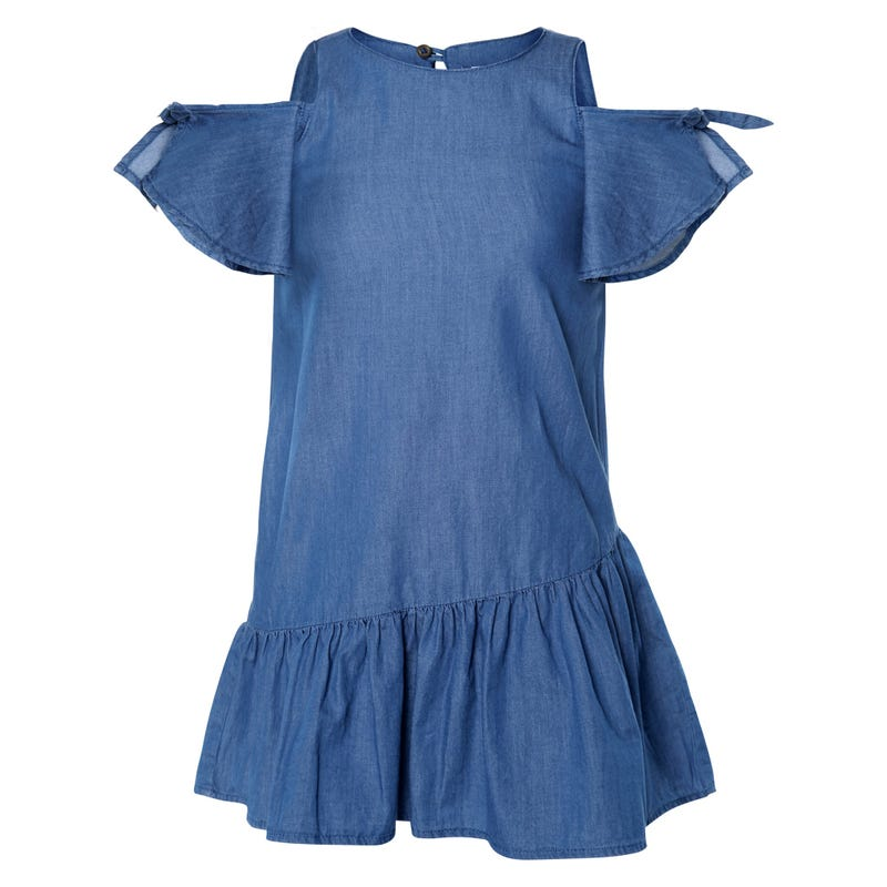 SANTORINI CHAMBRAY DRESS 7-14