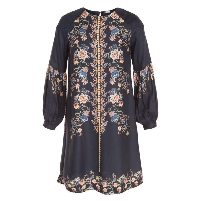 Boho Floral Dress 7-14