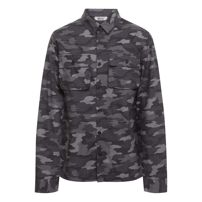 Jurassic Camo Shirt 7-14