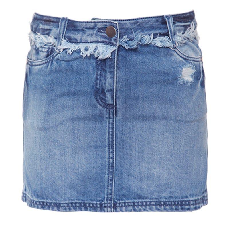 Provence Denim Skirt 7-14y