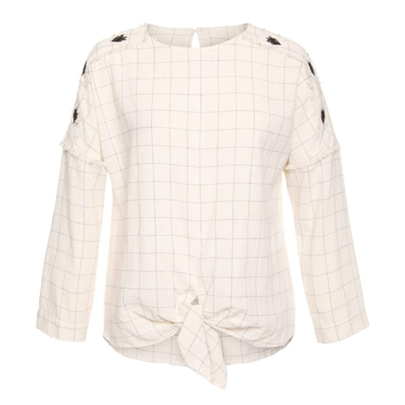 Rio Embroidery Long Sleeve Shirt 7-14y