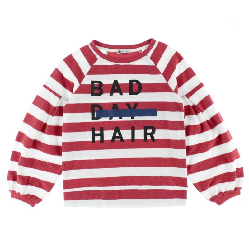 Madrid Striped Sweatshirt 7-14y