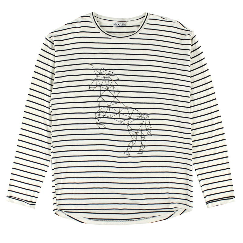 Rio Horse Long Sleeve Shirt 7-14y
