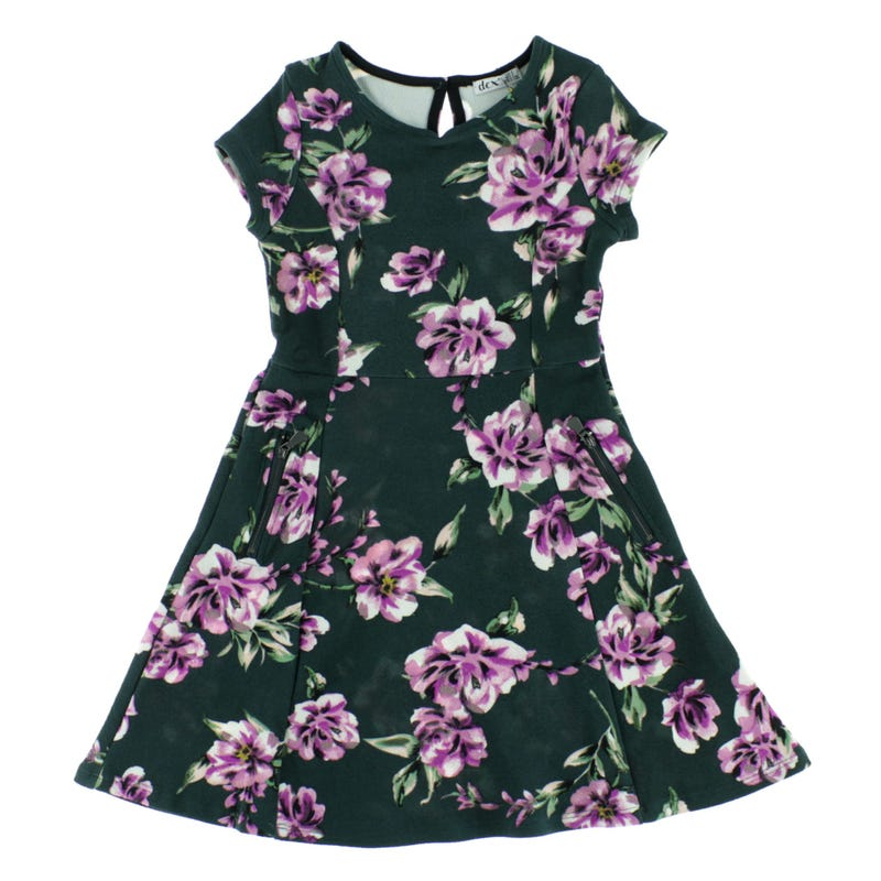 San Diego Printed Dress 7-14