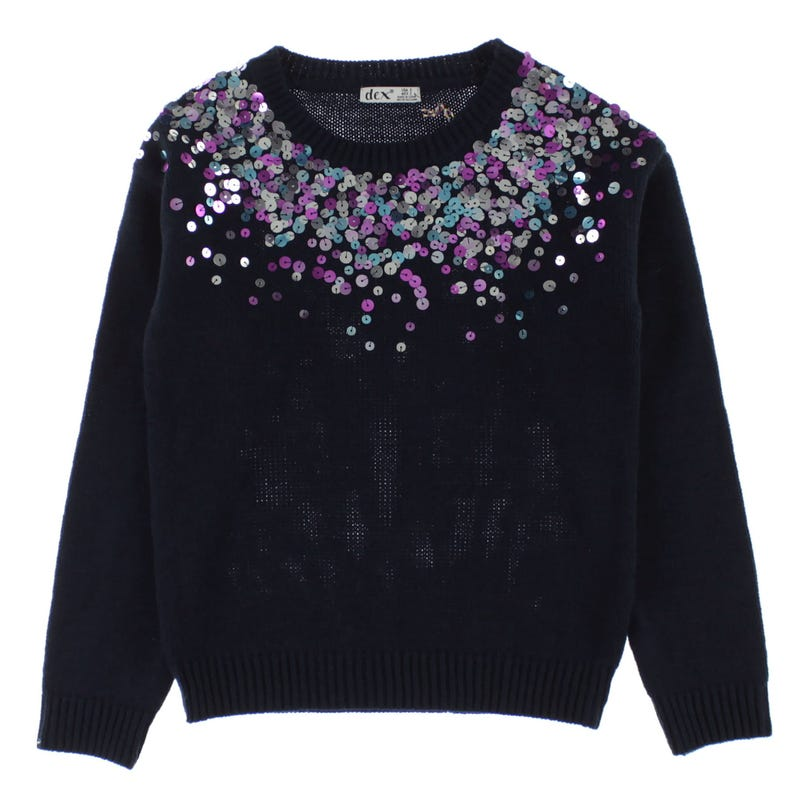 Pull Paillettes San Diego 7-14ans