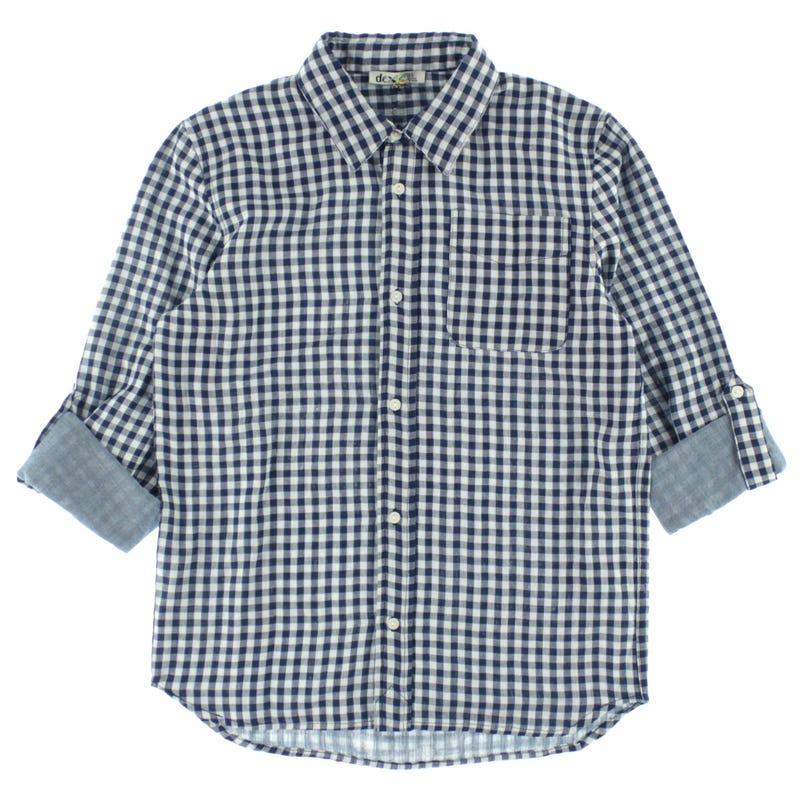 Adventure Plaid Shirt 7-14