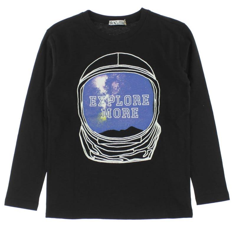 T-Shirt à Manches Longues Explore 7-14ans