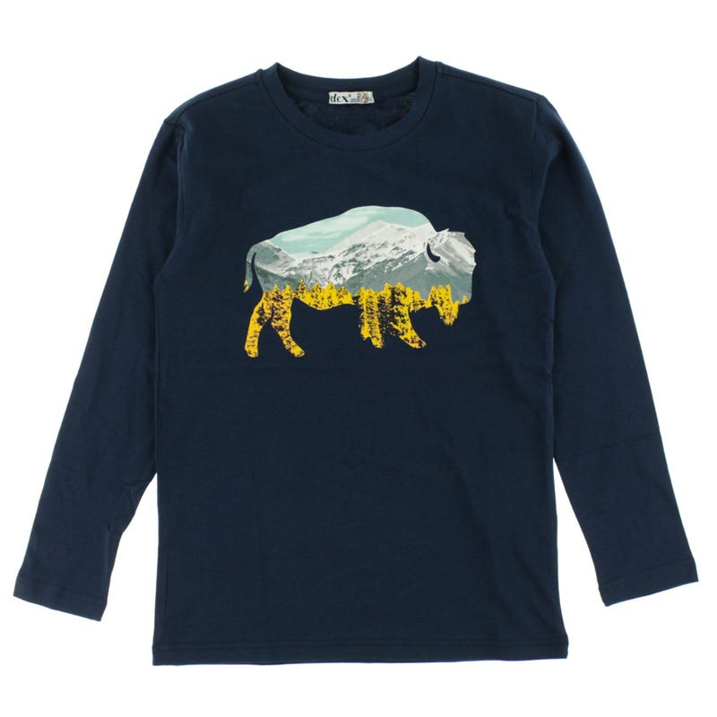 T-Shirt à Manches Longues Aventure 7-14ans