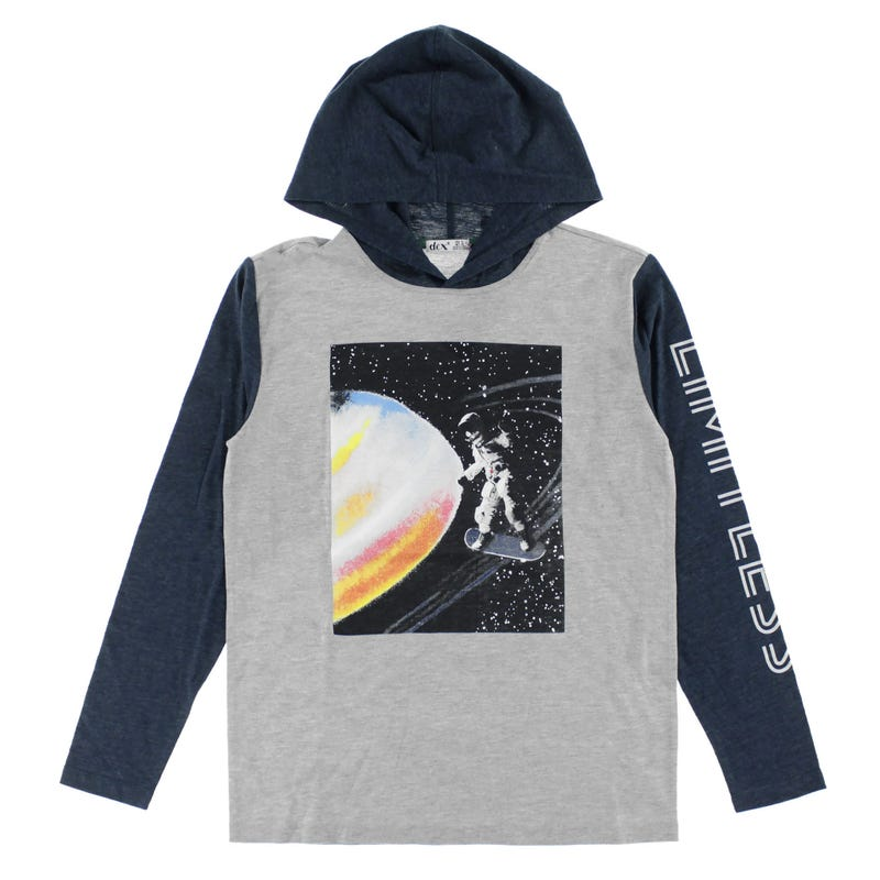 T-Shirt à Capuchon Aventure 7-14ans