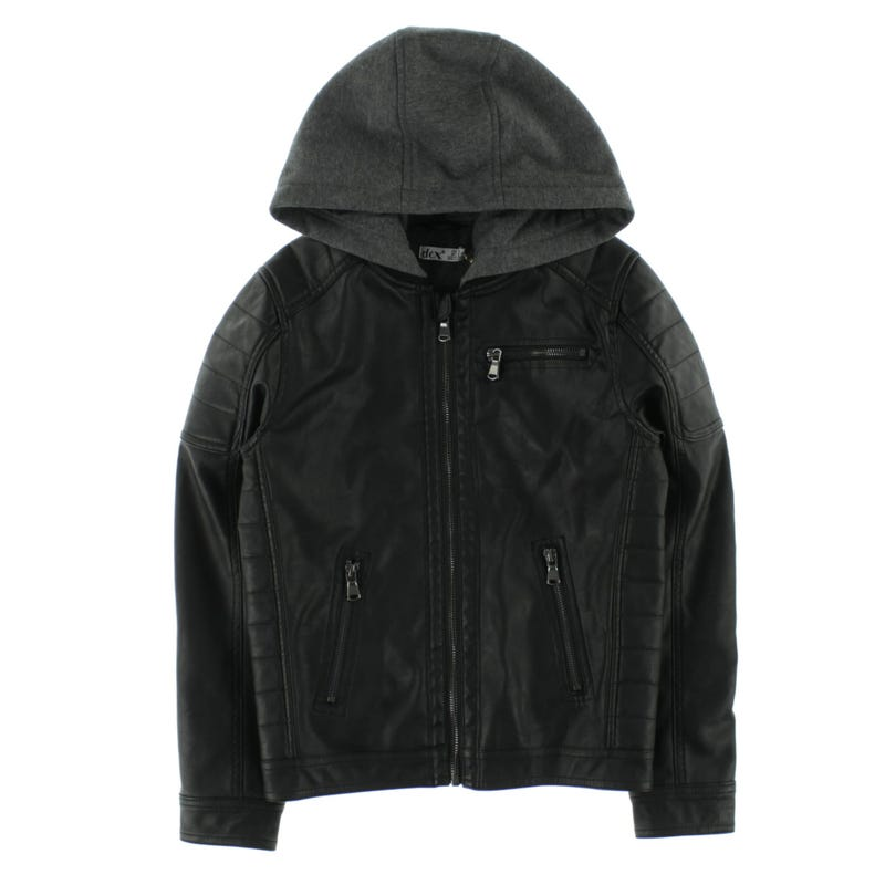 Explore Pu Hooder Jacket 7-14