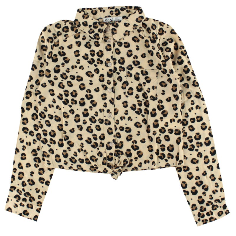 Savannah Leopard Shirt 7-14