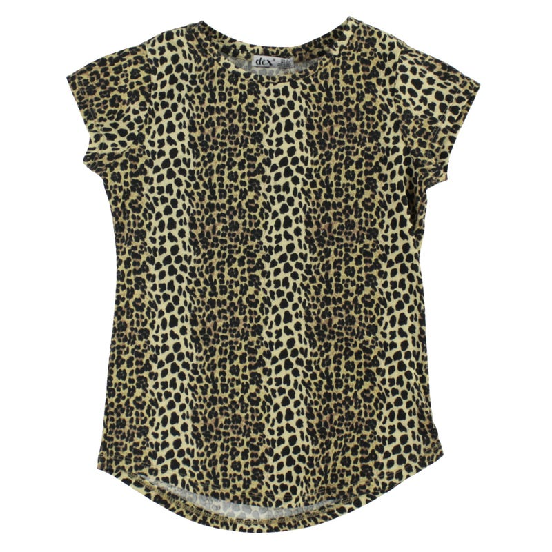 Savannah Leopard T-Shirt 7-14