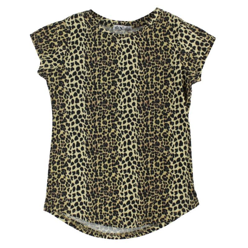 Savannah Leopard T-Shirt 7-14