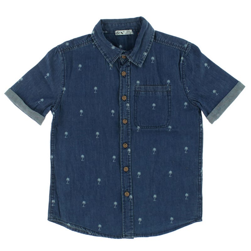 Voyage Palm Trees Shirt 7-14