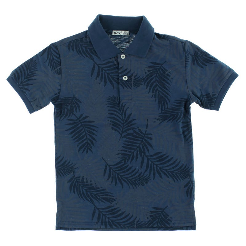 Voyage Printed Polo 7-14