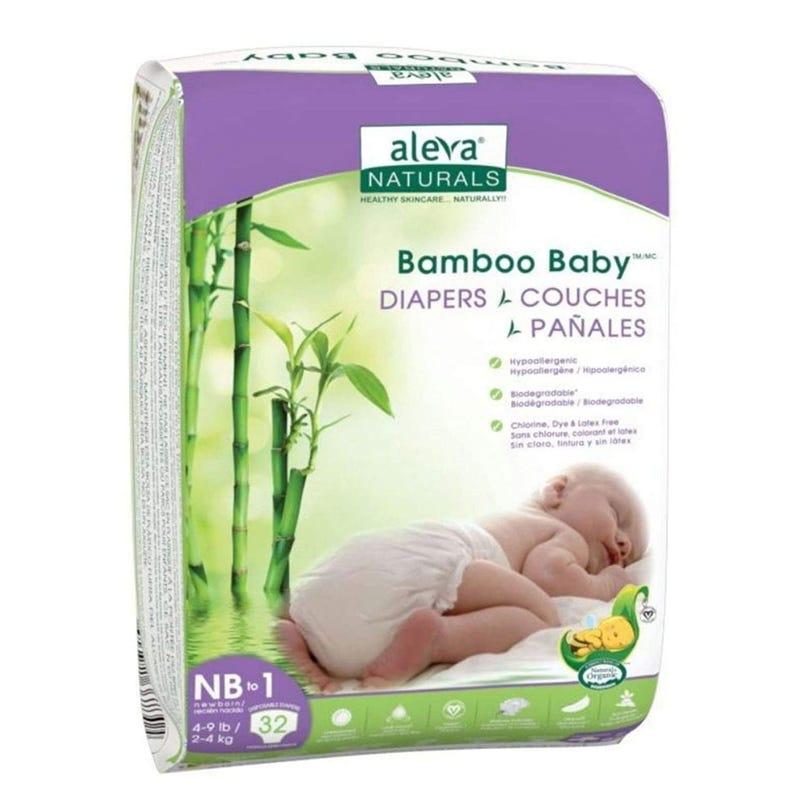 Couches Jetables Biodégradables en Bambou