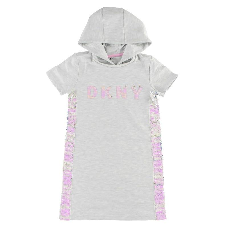 Logo Hoodie Dress 7-16y