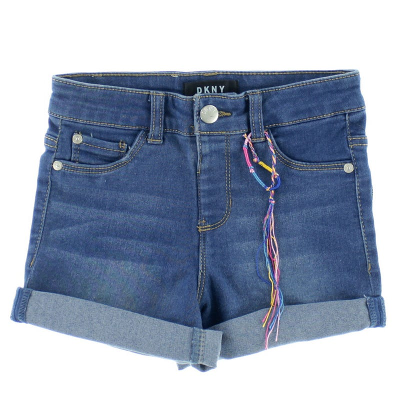 5 Pockets Denim Shorts 7-14y