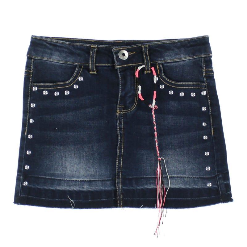 Basic Denim Skirt 7-14y