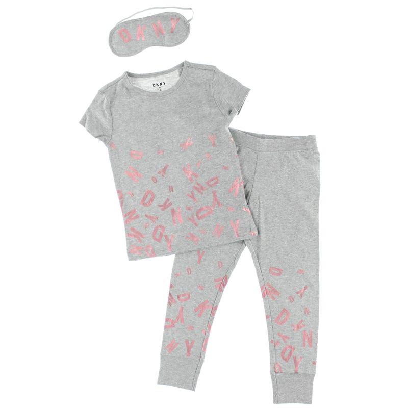 DKNY Foil Print & Mask Pajamas